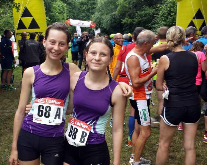 Platz 2 für Lena Altmüller und Magdalena Strutzenberger