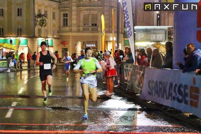 Sigi Herndler wurde 2. beim 5. Linzer Sparkasse Night Run