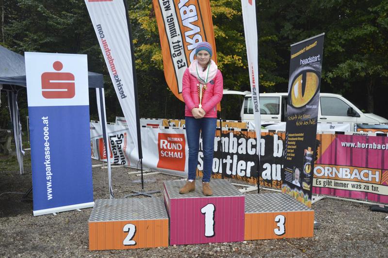 Magdalena Strutzenberger Schnellste auf der Kurzstrecke beim Teamplayer Crosslauf 2015